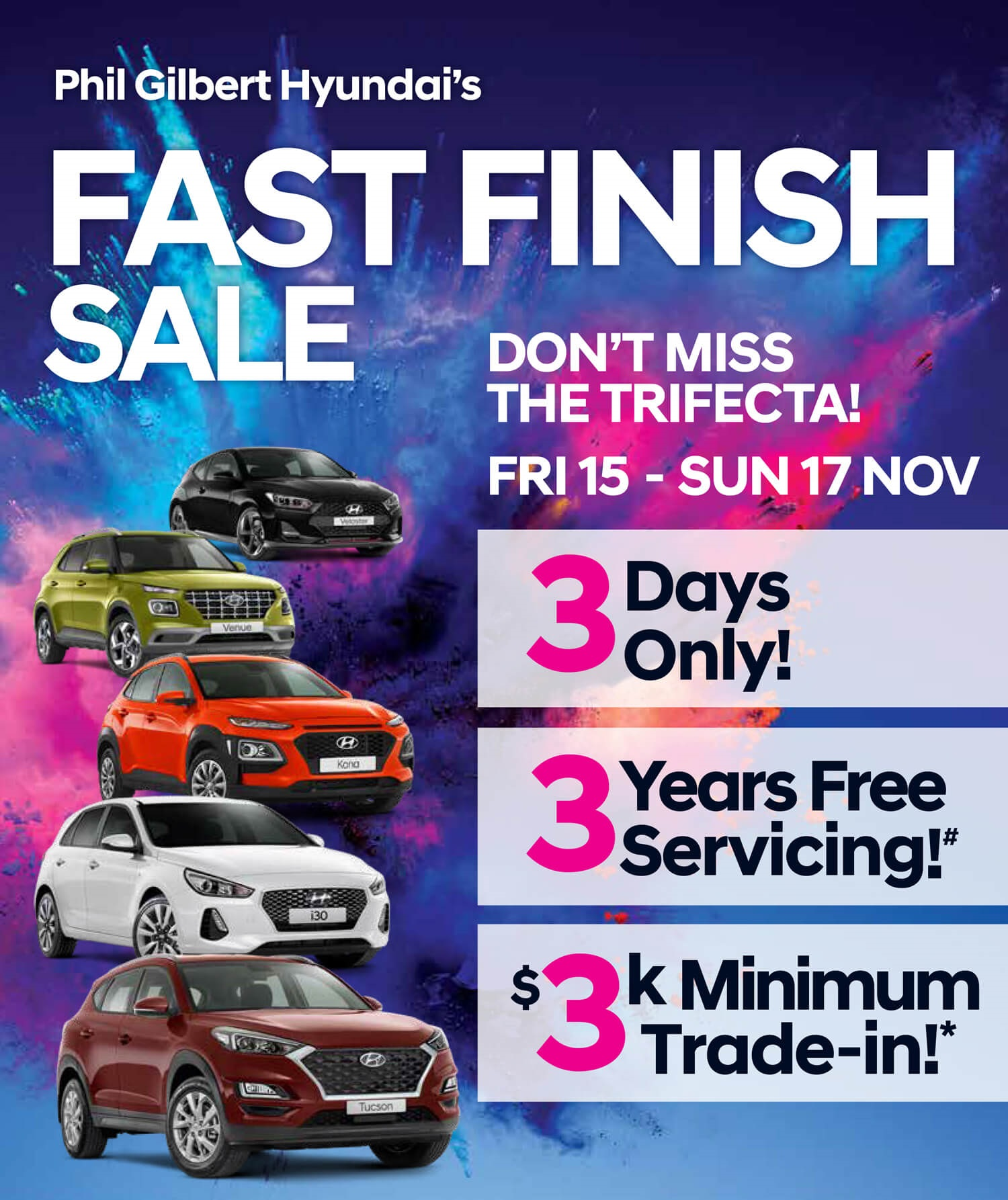 Fast Finish Sale Flyer